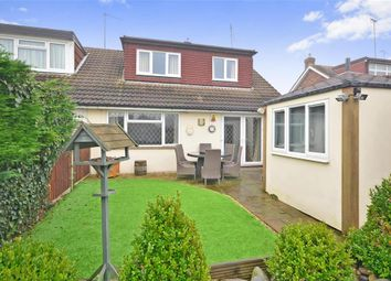 Thumbnail 3 bedroom bungalow for sale in Knights Walk, Abridge, Romford, Essex