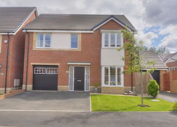 Thumbnail 4 bed detached house for sale in Strother Way, Cramlington