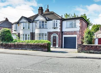 Thumbnail 5 bed semi-detached house for sale in Fog Lane, Didsbury, Manchester