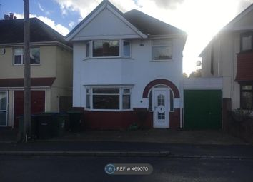Thumbnail 3 bed detached house to rent in Sunnybank Road, Birmingham