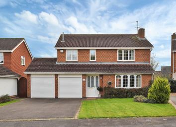 Thumbnail 4 bed detached house for sale in Breech Hedge, Rothley, Leicester