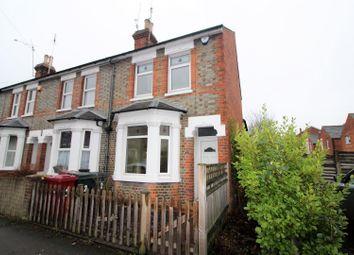 Thumbnail 3 bed end terrace house for sale in De Montfort Road, Reading