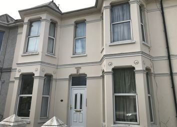 Thumbnail 1 bed flat to rent in Connaught Avenue, Plymouth