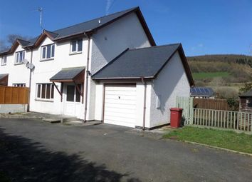 Thumbnail 3 bed semi-detached house for sale in Ty Llwyd, Aberystwyth, Ceredigion