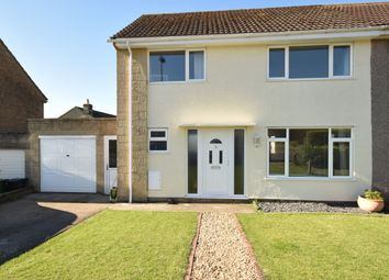 Thumbnail 3 bed semi-detached house for sale in Birgage Road, Hawkesbury Upton, Badminton