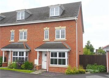 Thumbnail 4 bed end terrace house for sale in Roundhouse Crescent, Worksop, Nottinghamshire