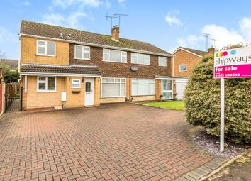 Thumbnail 4 bed semi-detached house for sale in Long Compton Drive, Hagley, Stourbridge
