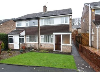 Thumbnail 3 bed semi-detached house for sale in Briardene, Burnopfield, Newcastle Upon Tyne