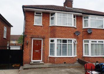 Thumbnail 3 bed semi-detached house for sale in Brinkburn Close, Edgware, London