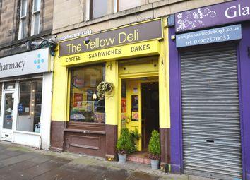Thumbnail Restaurant/cafe for sale in Brougham Street, Edinburgh