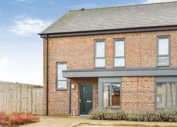 Thumbnail 2 bed semi-detached house for sale in Bardeen Close, Oakgrove, Milton Keynes