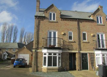 Thumbnail 4 bed semi-detached house for sale in Kingsline Close, Peterborough