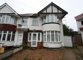 Thumbnail 3 bed semi-detached house to rent in Barford Close, London