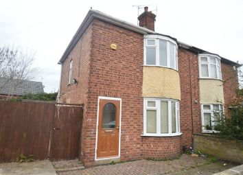 Thumbnail 2 bed semi-detached house to rent in Newmarket Road, Bulwell, Nottingham