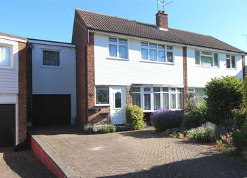 Thumbnail 4 bed semi-detached house for sale in Dering Crescent, Eastwood, Leigh-On-Sea