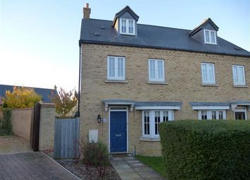 Thumbnail 4 bed town house to rent in Alexander Chase, Ely