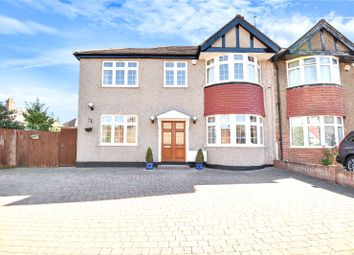 Thumbnail 4 bed semi-detached house for sale in Worple Close, Harrow, Middlesex