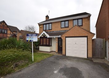 Thumbnail 4 bed detached house to rent in Farnborough Gardens, Allestree, Derby