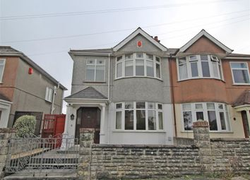 Thumbnail 3 bed semi-detached house for sale in Brynmoor Park, Higher Compton, Plymouth