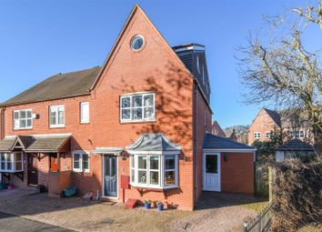 Thumbnail 4 bed end terrace house for sale in Calcutt Way, Shirley, Solihull