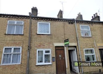 Thumbnail 2 bed terraced house for sale in Cromwell Road, Peterborough, Cambridgeshire.