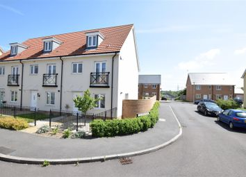 Thumbnail 4 bed town house for sale in Fieldfare Avenue, Portishead, Bristol