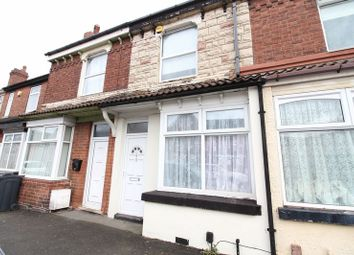 Thumbnail 2 bed terraced house to rent in Cemetery Road, Willenhall