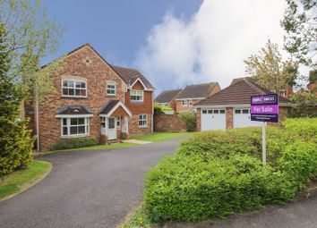 Thumbnail 4 bed detached house for sale in Kiel Drive, Andover