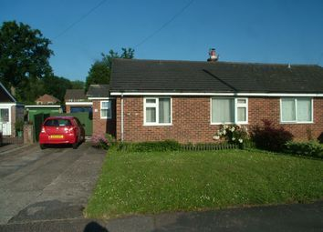 Thumbnail Semi-detached bungalow for sale in St. Marys Road, Long Stratton, Norwich