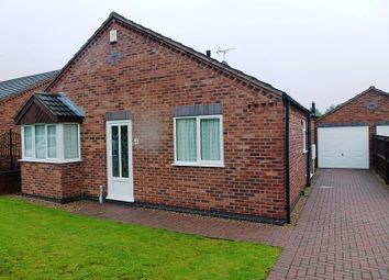 Thumbnail 2 bed detached bungalow to rent in Allwood Close, Mansfield