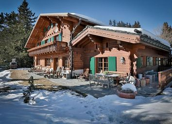 Thumbnail 6 bed property for sale in Chalet In Plan Mayens, Crans Montana, Valais, Switzerland