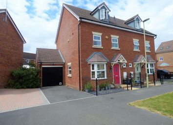 Thumbnail 4 bed semi-detached house for sale in Amport Lane Kingsway, Quedgeley, Gloucester