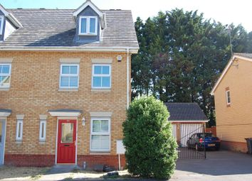 Thumbnail 3 bed terraced house for sale in Morgan Close, Saxon Gate, Luton