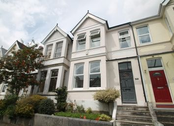 Thumbnail 3 bed terraced house for sale in Pounds Park Road, Plymouth