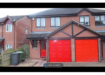 Thumbnail 3 bed semi-detached house to rent in Walkwood Road, Redditch