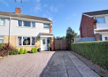 Thumbnail 3 bed semi-detached house for sale in Elm Close, North Hykeham, North Hykeham, Lincoln