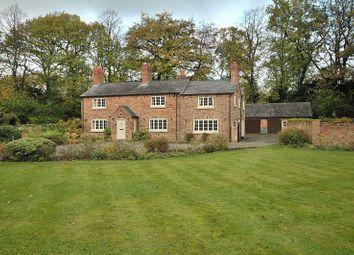 Thumbnail 5 bed detached house for sale in Park Lane, Higher Walton, Warrington