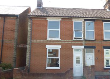 Thumbnail 3 bedroom end terrace house to rent in Spring Road, Ipswich