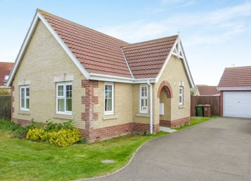 Thumbnail 2 bedroom detached bungalow for sale in Willowherb Close, March
