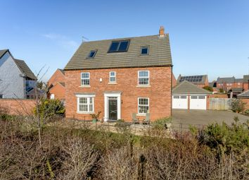 Thumbnail 6 bed detached house for sale in Southwold Close, Market Harborough, Leicestershire
