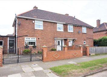 Thumbnail 3 bedroom semi-detached house for sale in Calverley Road, Middlesbrough