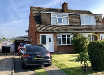 Thumbnail 3 bed semi-detached house for sale in Hesleden Avenue, Middlesbrough
