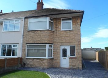 Thumbnail 3 bed semi-detached house for sale in Canada Crescent, Blackpool