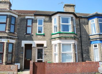 Thumbnail 3 bed terraced house to rent in Beaconsfield Road, Lowestoft