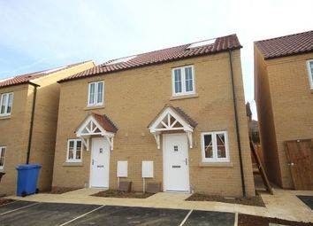 Thumbnail 2 bed semi-detached house to rent in Virginia Crescent, Burton Latimer, Kettering