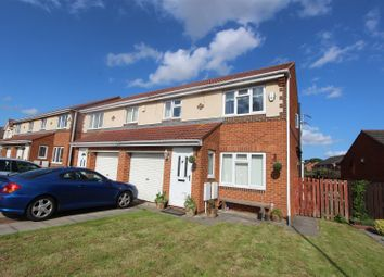 Thumbnail 3 bed semi-detached house for sale in Greensfield Close, Faverdale, Darlington