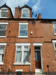 Thumbnail 3 bedroom terraced house for sale in Exeter Road, Forest Fields, Nottingham