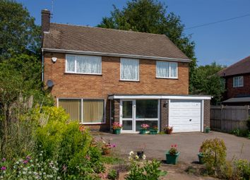 Thumbnail 4 bed detached house for sale in Manor Road, Desford, Leicester