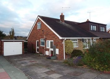 Thumbnail 2 bed semi-detached bungalow to rent in Madeley, Crewe