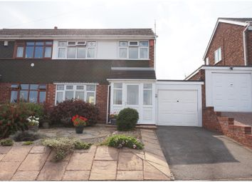 Thumbnail 3 bed semi-detached house for sale in Silverthorne Avenue, Tipton